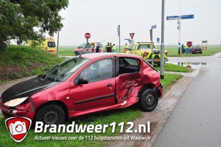 Aanrijding op beruchte kruising aan de Kloosterheulweg Waalwijk