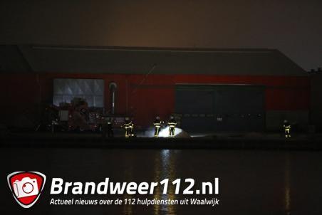 Klein brandje op industrieterrein in Waalwijk