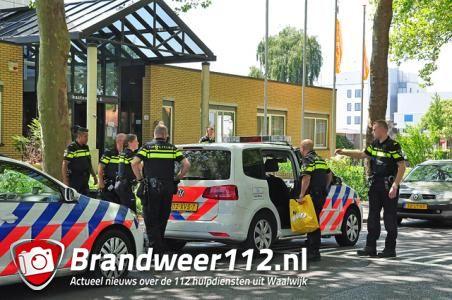 Vrouw aangehouden in pand van GGZ Breburg aan de Kasteellaan Waalwijk