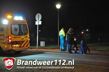 Agressieve man in Waalwijk, politie grijpt in