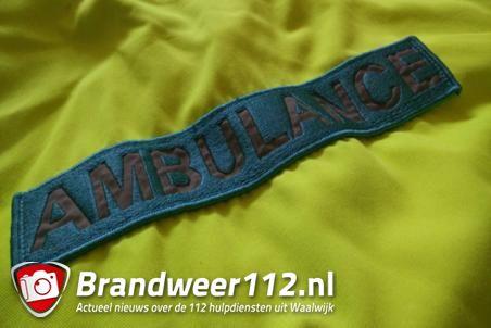Hulpdiensten rukken uit naar het Larixplein Waalwijk