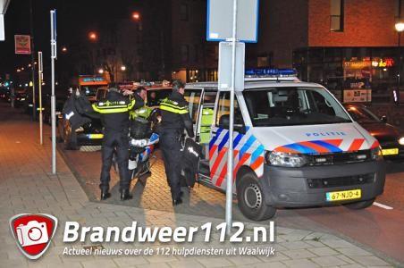 Veel politie inzet aan de Grotestraat Waalwijk
