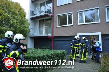 Pan op het vuur zorgt voor rookontwikkeling in woning aan de Noordstraat Waalwijk