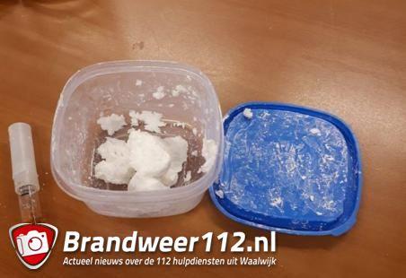 Man wordt aangehouden met 90 gram aan amfetamine in Waalwijk