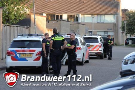 Veel politie in wijk Zanddonk Waalwijk