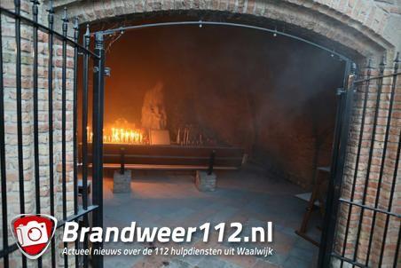 Brand in Mariakapel Waalwijk