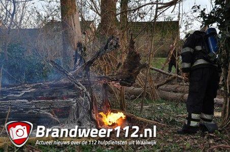 Buitenbrand aan de Winterdijk Waalwijk