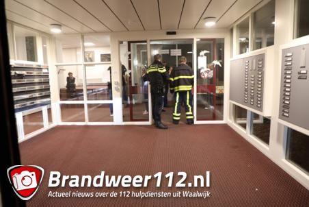 Bewoner ademt rook in bij keukenbrand in appartement Mercatorlaan Waalwijk