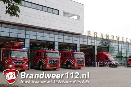 Nieuwe brandweerkazerne voor brandweer Waalwijk vandaag in gebruik genomen