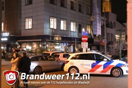 Veel politie inzet door verwarde man aan de Grotestraat Waalwijk