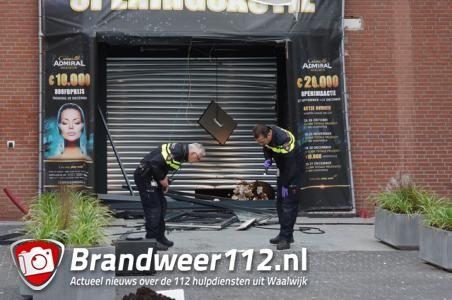 Casino Admiral in Waalwijk hoopt vandaag nog open te gaan na ramkraak