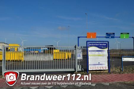 Tilburger betrapt op diefstal bij milieustraat in Waalwijk