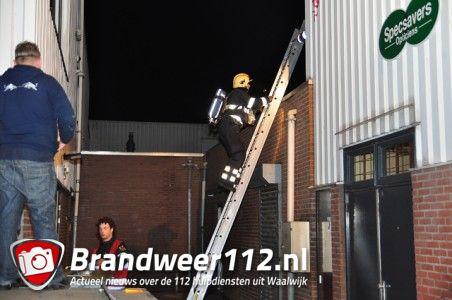 Brandweer rukt uit voor brandlucht aan De Els Waalwijk