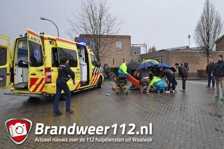 Ernstig ongeval met fietser aan de Molenvlietstraat Waalwijk
