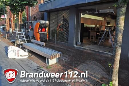 Ramkraak op kledingwinkel View265 in Waalwijk