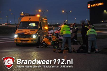 Man raakt gewond bij ongeval aan de Keurweg Waalwijk