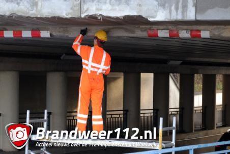 Reparatiewerkzaamheden aan viaduct aan de Hertog Janstraat Waalwijk