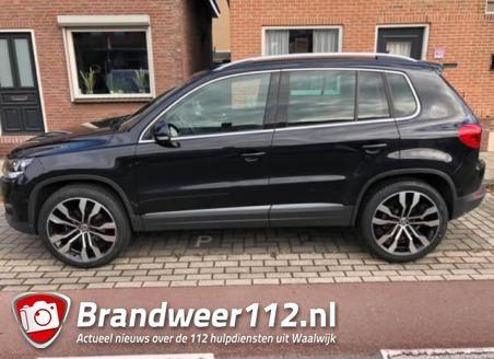 Volkswagen Tiguan gestolen aan de Putstraat Waalwijk