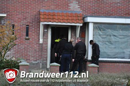 UPDATE: Politie doet inval in woning aan de Thorbeckelaan Waalwijk