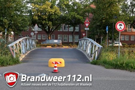 Brugje afgesloten door vele ongevallen aan het Halve Zolenpad Waalwijk