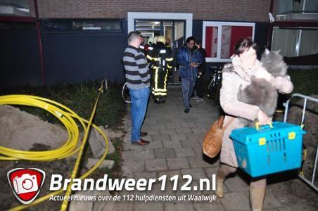 Flat in Noordstraat Waalwijk ontruimd vanwege mogelijk gaslek