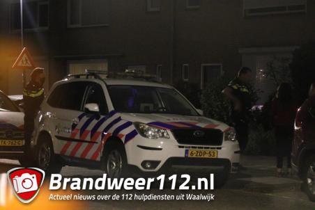 Man aangehouden in woning aan de Eikenlaan Waalwijk