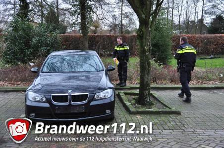 Gestolen BMW teruggevonden aan de Pastoor van der Zijlestraat in Waalwijk