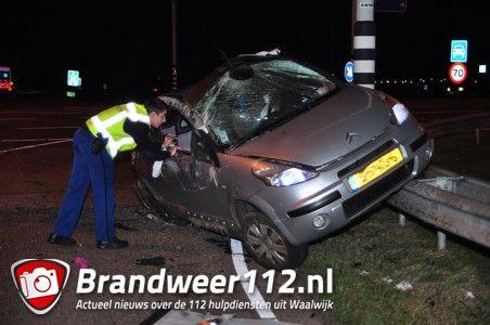 UPDATE: 3 gewonden bij ongeval op de Midden-Brabantweg Waalwijk