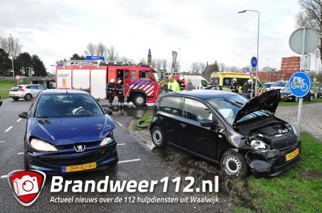 Aanrijding door rukwind aan de Kloosterheulweg Waalwijk