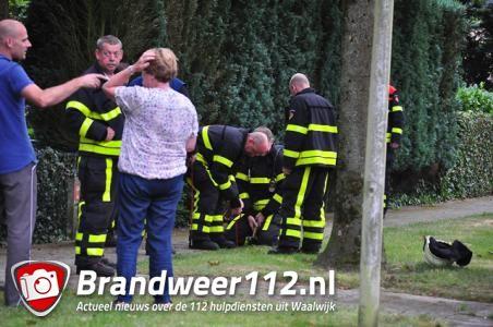 Omstanders ruiken gas aan de Mauvestraat Waalwijk