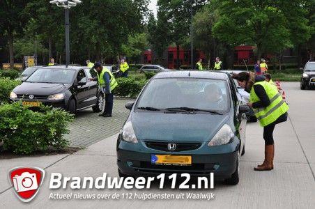 Politie en buurtpreventie actie aan de Drunenseweg Waalwijk