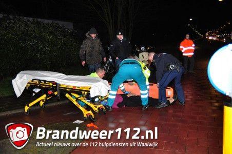 Voetganger aangereden aan de Noorder-Parallelweg Waalwijk