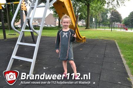 5-jarig dochtertje vindt gereedschap bij speeltuin in Waalwijk