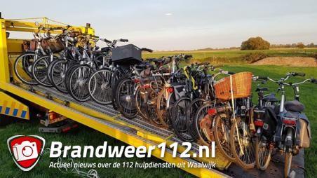 Veel gestolen fietsen aangetroffen in Waalwijk