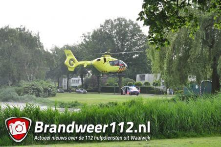 Hulpdiensten rukken massaal uit naar de Mozartlaan Waalwijk