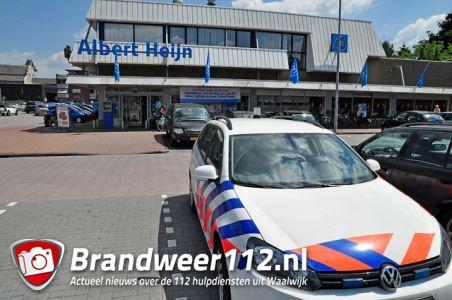 Winkeldief gaat door het lint bij Albert Heijn aan winkelcentrum De Els Waalwijk