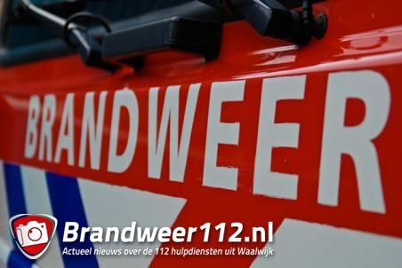 Grote brand bij afvalverwerker in Waalwijk
