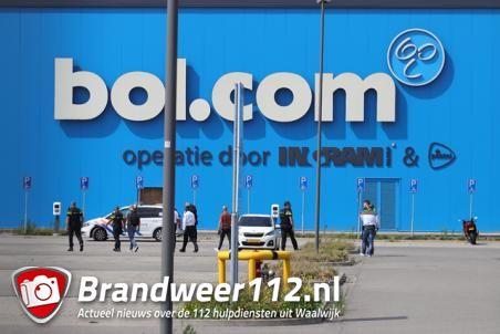 Gewapende overval door meerdere daders op distributiecentrum Bol.com in Waalwijk