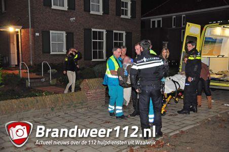4 mensen worden onwel door koolmonoxidevergiftiging aan de Floris V-Laan Waalwijk