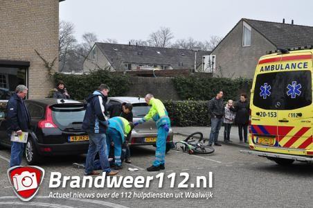 Jongetje gewond na val van fiets aan de Sweelinckstraat Waalwijk