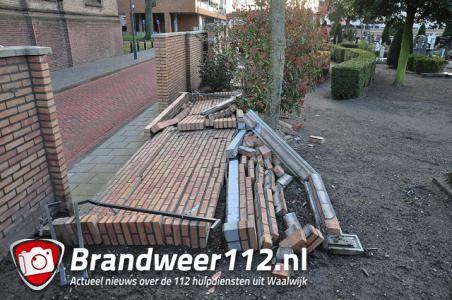 Vandalen slaan weer toe aan het Sint Jansplein Waalwijk