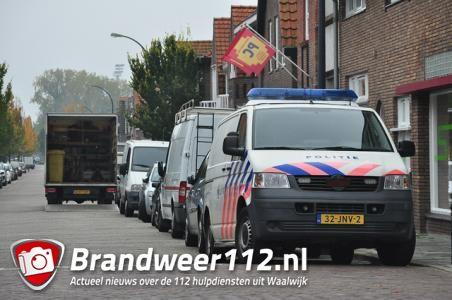 Hennepkwekerij gevonden aan Baardwijksestraat in Waalwijk