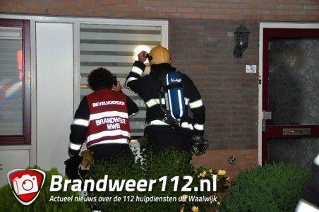 Brandgerucht in woning aan de Wim Sonneveldstraat Waalwijk