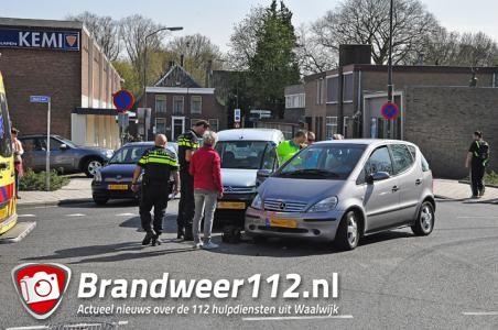 Vrouw gewond bij ongeval aan de Heulstraat Waalwijk