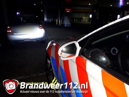 Spookrijder met te veel alcohol op van de weg geplukt op A59 Waalwijk