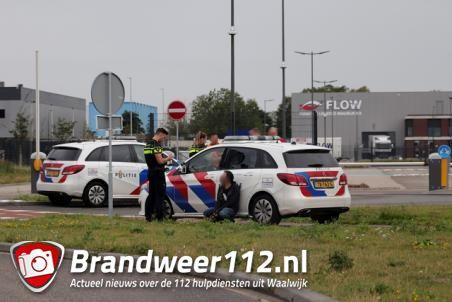 Verwarde man op terrein van Bol.com in Waalwijk