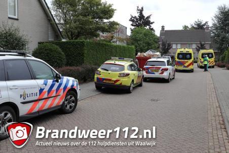 Man raakt zwaargewond na val van trap aan de Antony van Dijckstraat Waalwijk