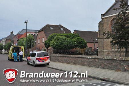 Man met succes gereanimeerd in kerk aan de Grotestraat Waalwijk