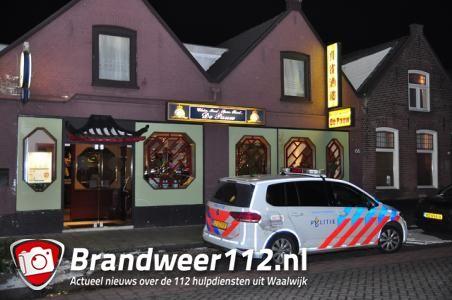 Restaurantbaas verjaagt overvaller die zijn vrouw bedreigt in Waalwijk: 'Hij was erg bang'