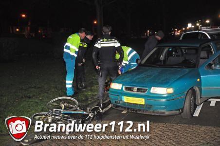 Meisje op fiets aangereden in Waalwijk